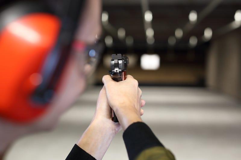 gun range illustration