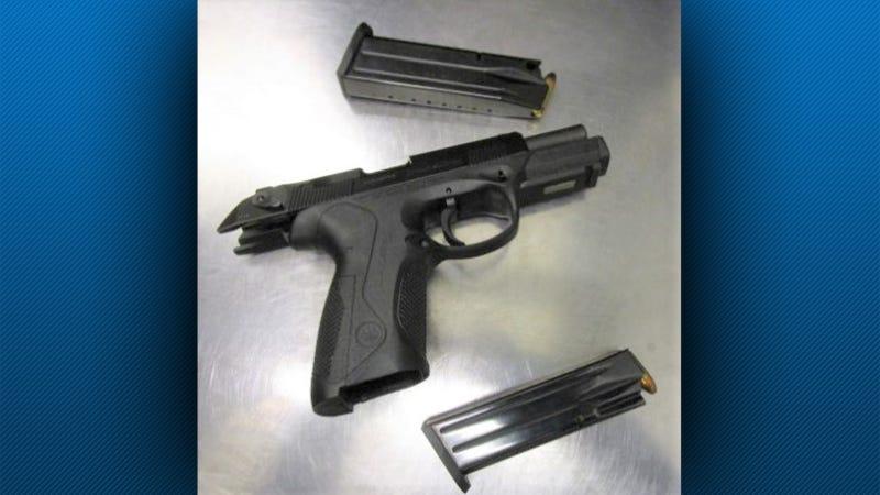 Loaded 9mm handgun found at Pittsburgh International Airport