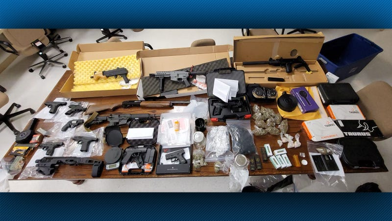 Guns and more seized following surveillance operation at Monroeville Gun Show