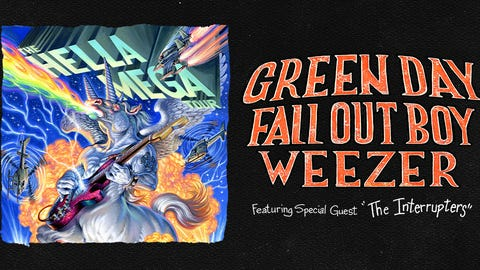 HellaMegaTour with Green Day, Weezer, and Fall Out Boy