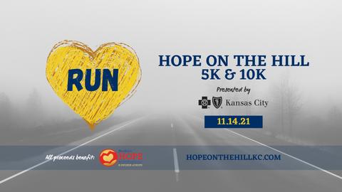 The Hope on the Hill 5/10K Run/Walk