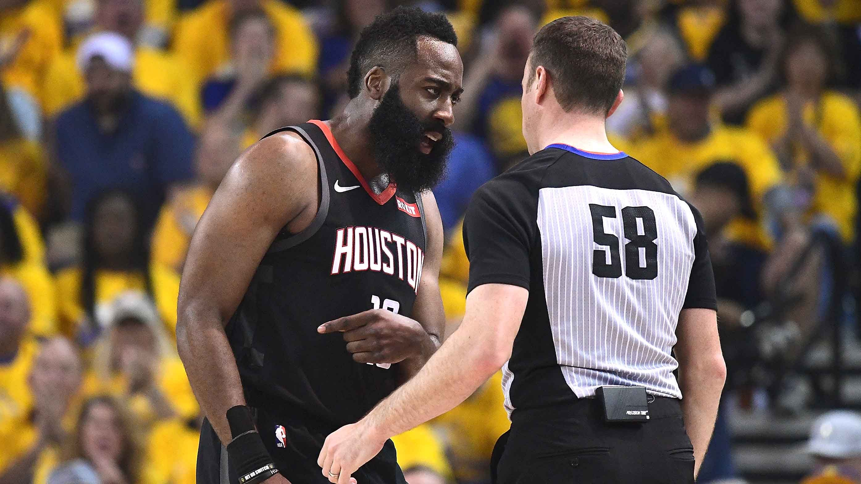 6f781dd8bd61 Houston Rockets-Golden State Warriors Game 1  Refs Controversy