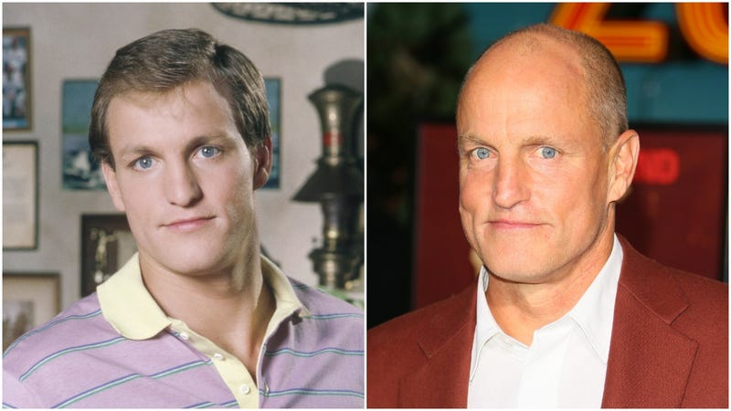 "Woody Harrelson on ""Cheers"" and at the ""Zombieland"" premiere"