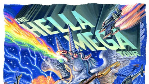 Hella Mega Tour with Green Day, Weezer, Fall Out Boy