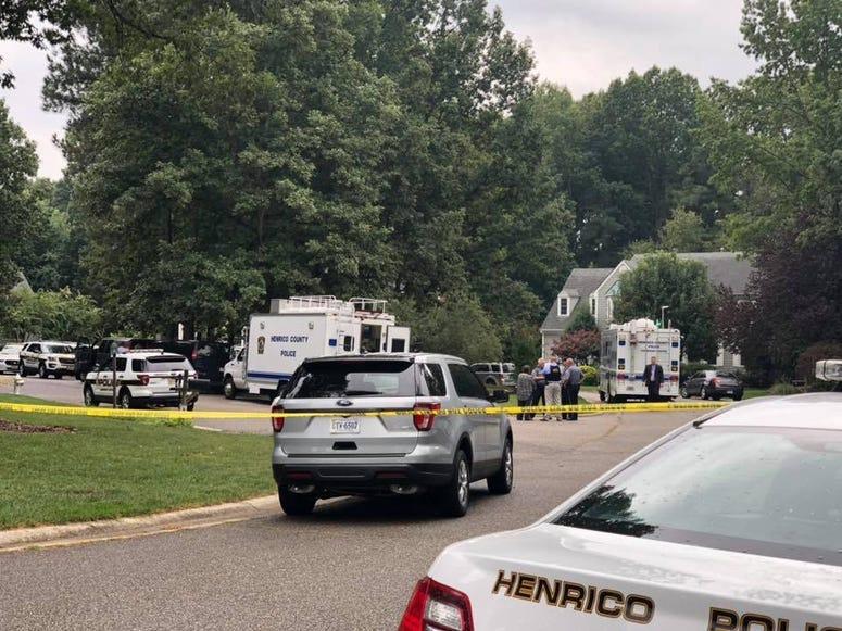 Henrico Police on scene