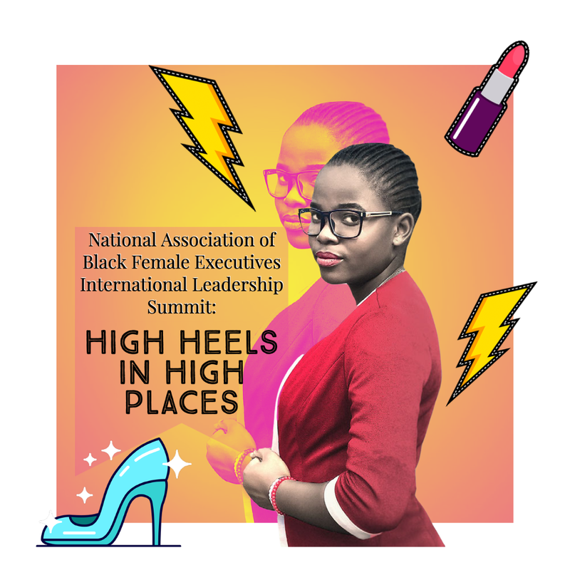 """Juandolyn Stokes of On Point with Juandolyn Stokes and Johnnie Walker, Entertainment Executive, Mentor, Subject Matter Expert and CEO/Founder of the National Association of Black Female Executives discuss the NABFEME International Leadership Summit """" High Heels in High Places"""" beginning Thurs Sept. 16- Sat. Sept. 18."""