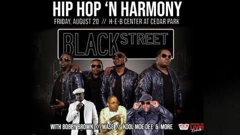Hip Hop 'N Harmony featuring BLACKstreet with Bobby Brown, Mase, Kool Moe Dee & more