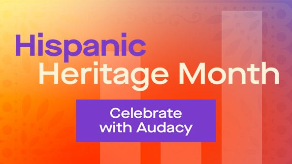 Audacy celebra el mes de la herencia hispana
