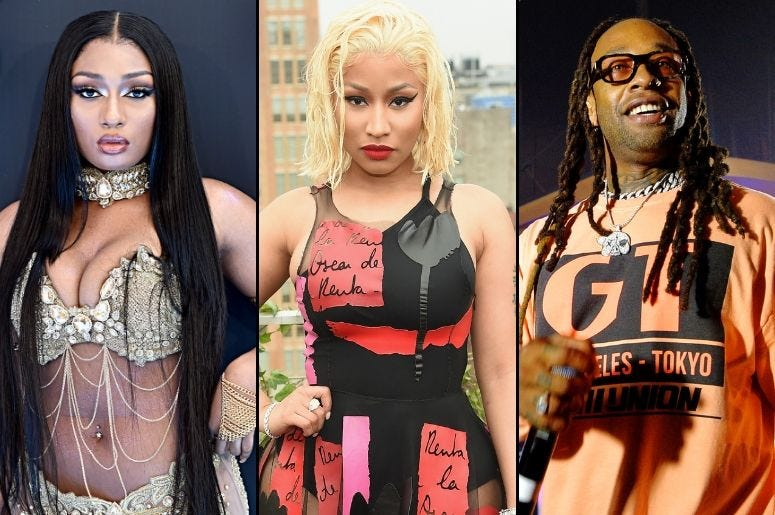 """Hot Girl Summer"" song - Megan Thee Stallion, Nicki Minaj, Ty Dolla $ign"