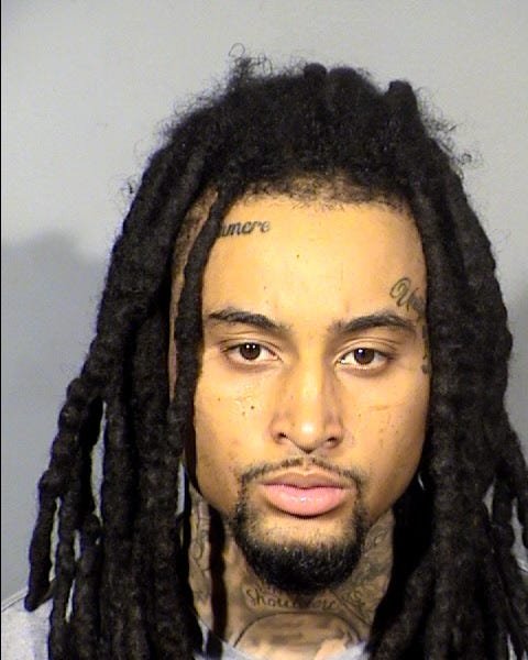 Booking photo of murder suspect James Hull