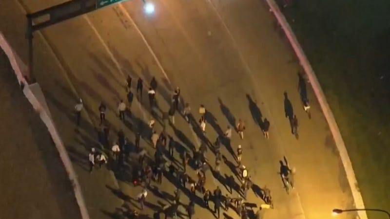 Protesters took to the streets of Philly, this time occupying part of I-95.