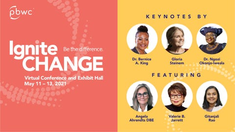 Join Professional BusinessWomen of California for their 32nd Annual Conference, IgniteCHANGE