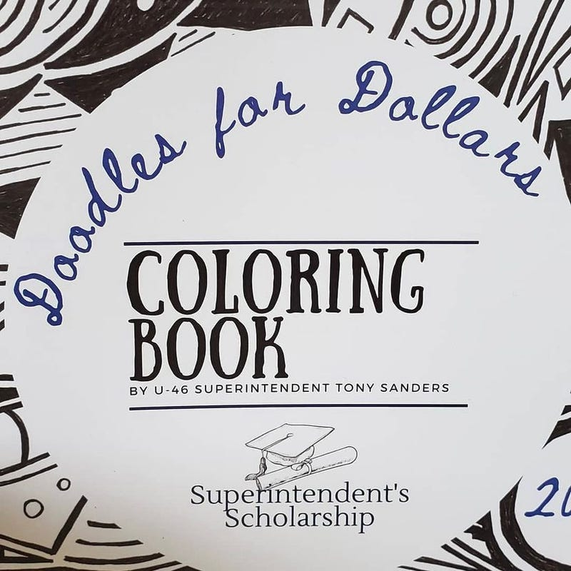 Doodles for Dollars coloring book
