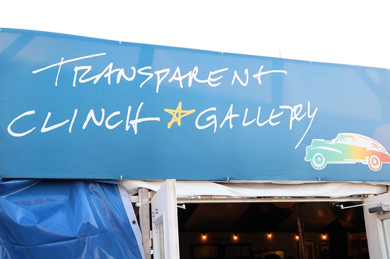 Transparent Clinch Gallery at Sea.Hear.Now