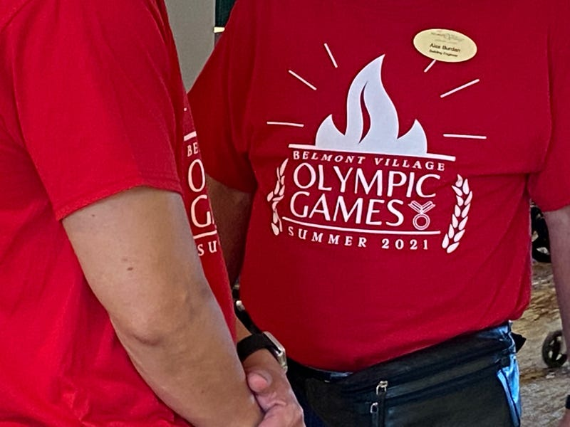 The Belmont Village Olympic Games.