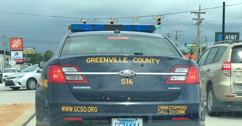 GCSO Ford Taurus patrol vehicle