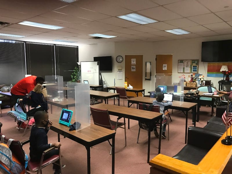 Kids at Bucks County's Learning Lab