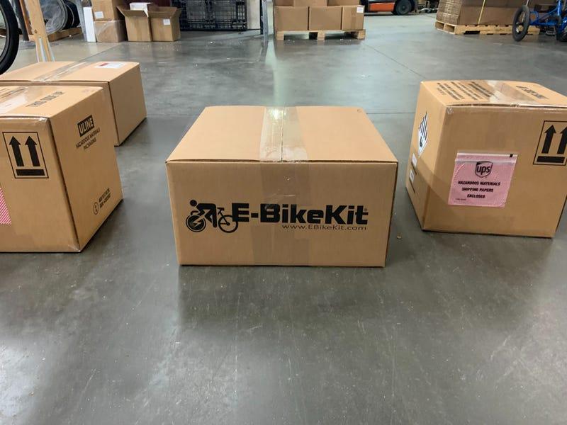 Electric Bike Technologies e-bike kit