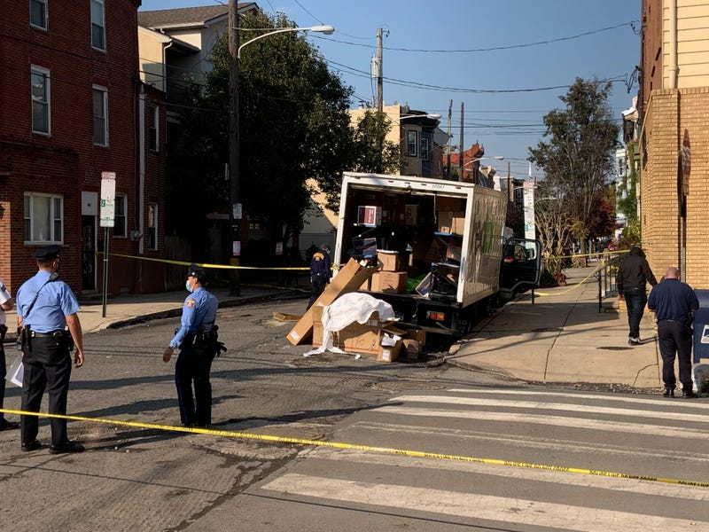 FedEx driver shot