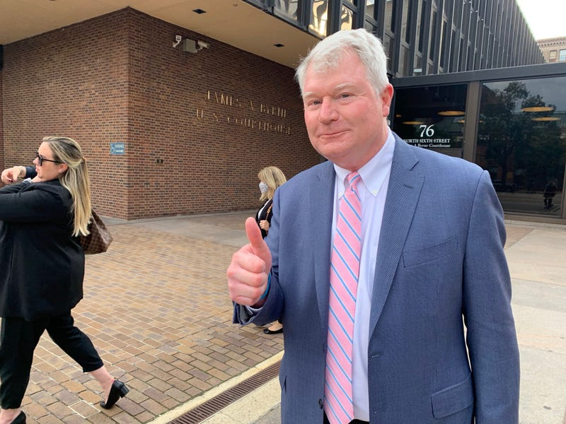 John Dougherty after jury selection Monday.