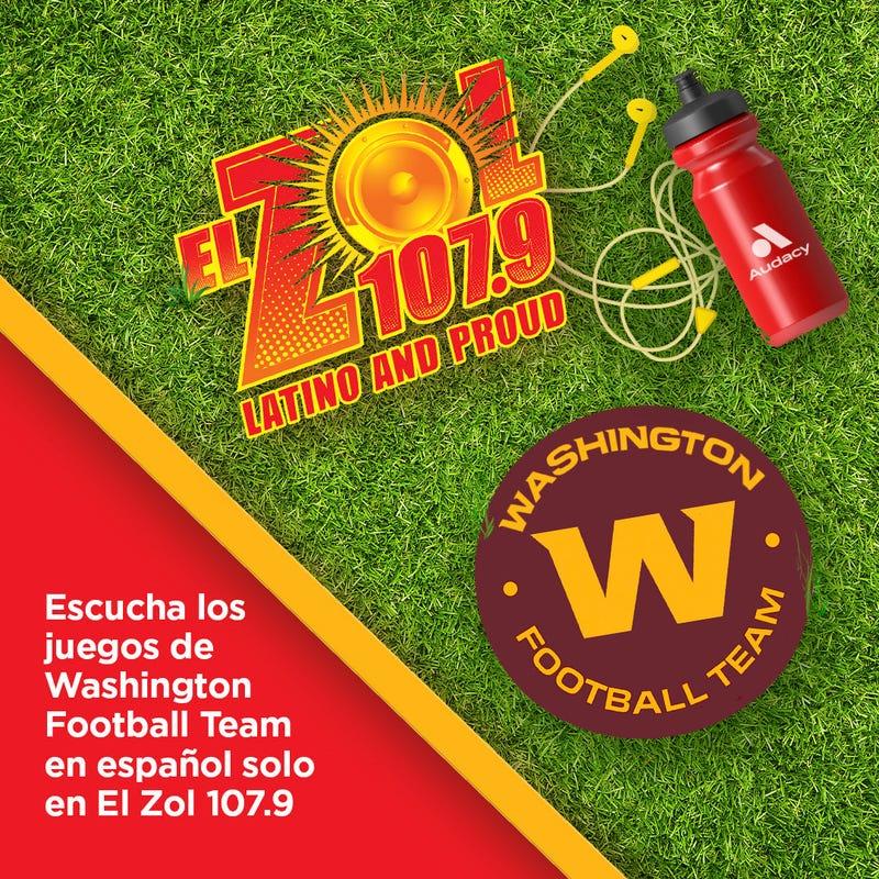 El Zol 1079 la cadena oficial del Washington Football Team en Español