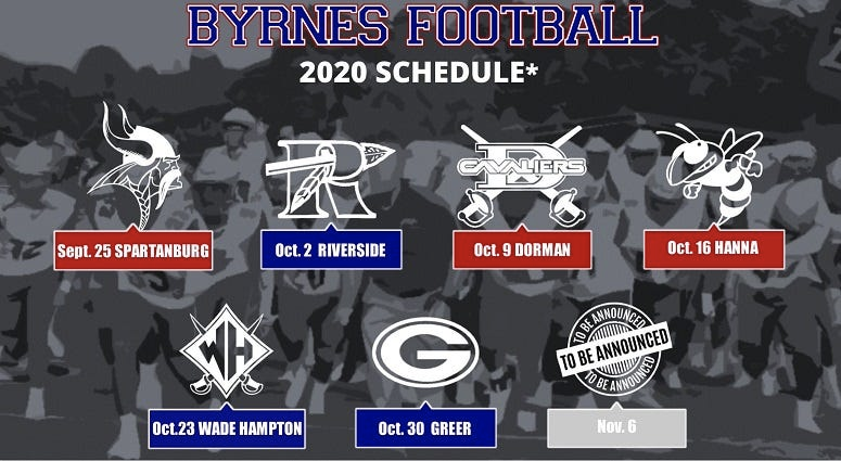 Byrnes Football