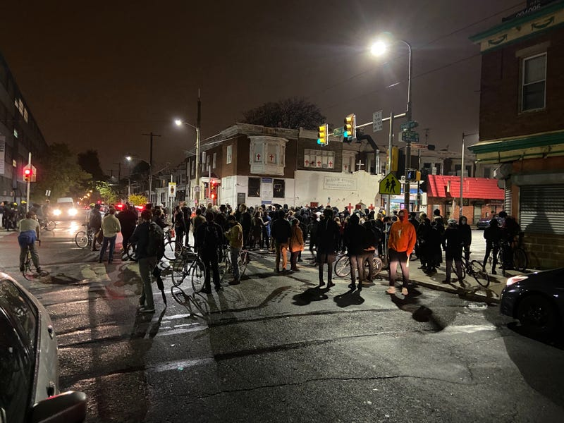 Police fatally shoot man they say brandished knife in West Philadelphia; protesters march in response