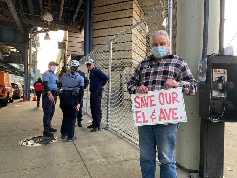 Somerset Station protest