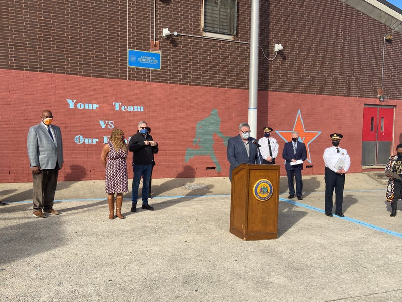 city press conference on gun violence