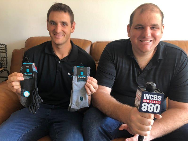 Dan and Mike Friedman of Tall Order Socks.