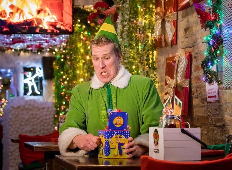 Elf'd Up Bar in Wrigleyville
