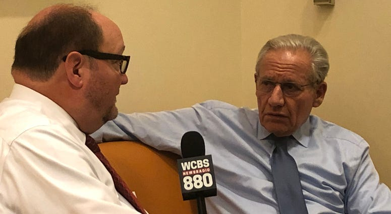 Steve Scott with Bob Woodward