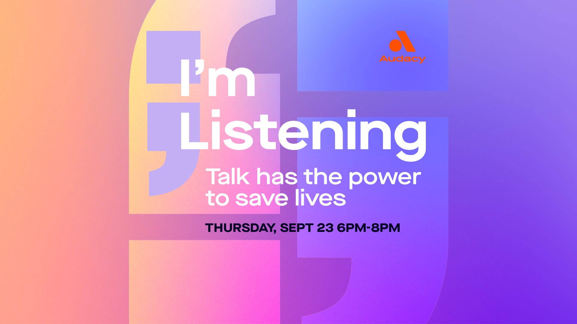 Join us for I'm Listening 2021: Meet our hosts and preview this year's lineup