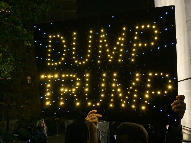 Dump Trump Sign