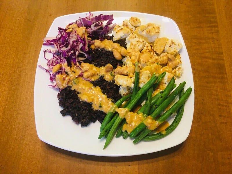 purple carrot meal