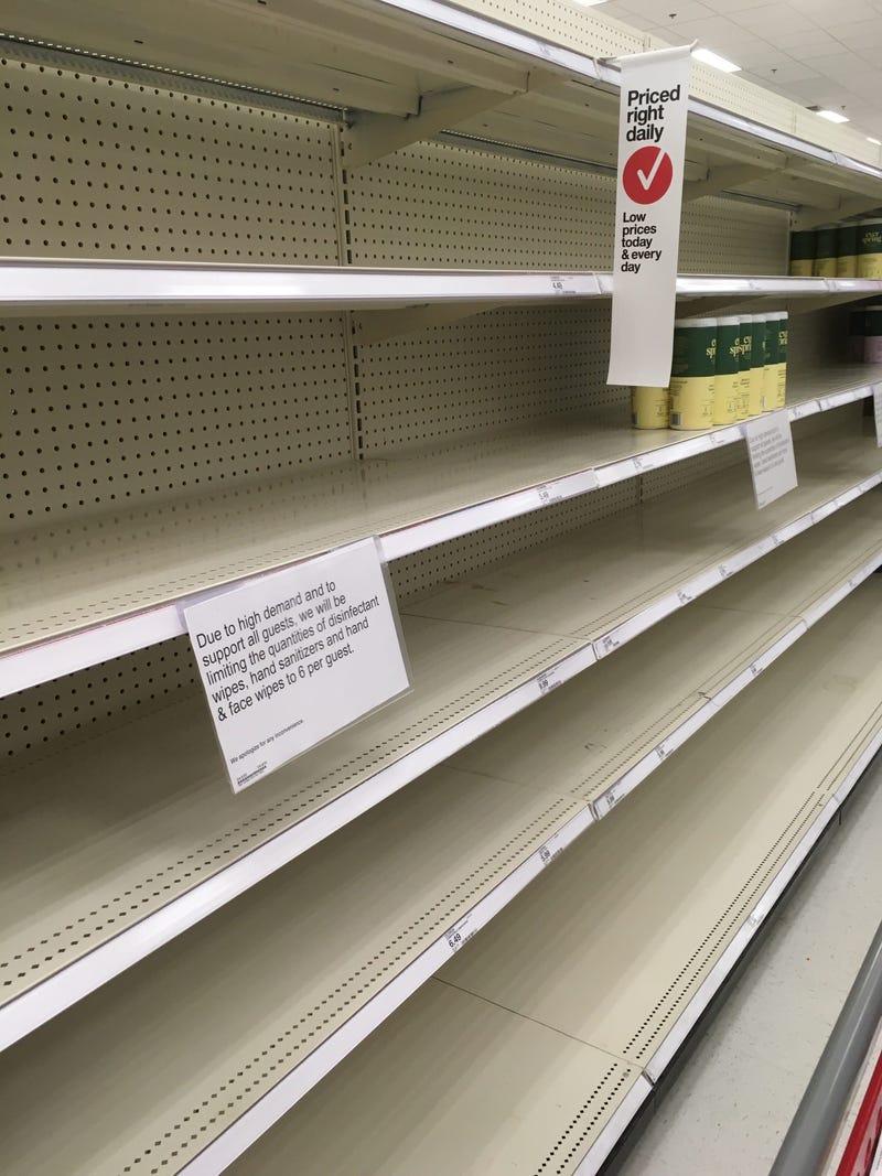 Empty Target aisles