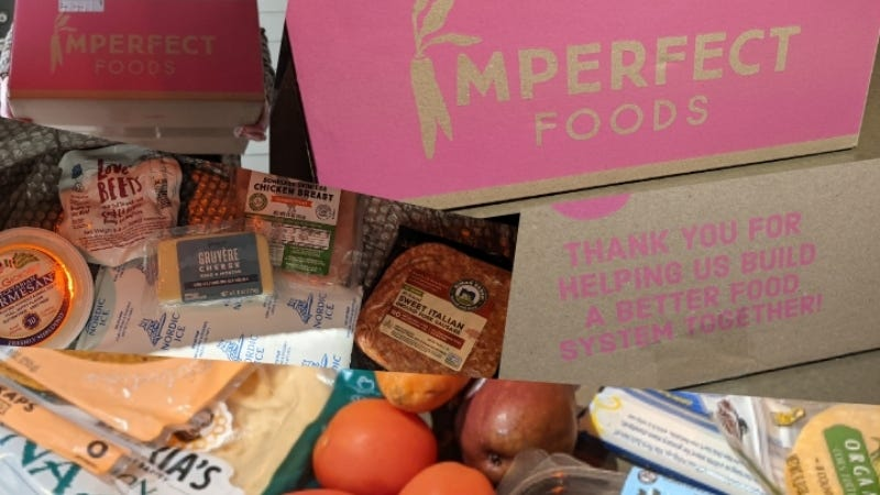 Imperfect foods delivery goodies February 2021 HR