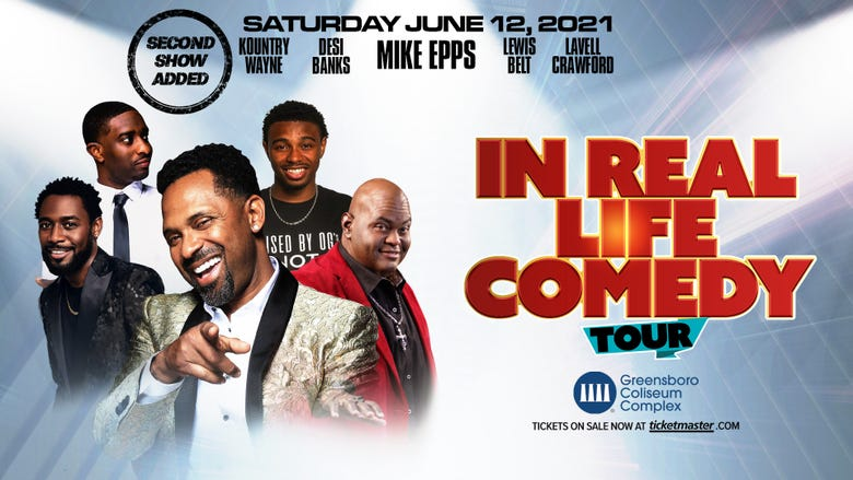 """Mike Epps """"In Real Life Comedy Tour"""""""