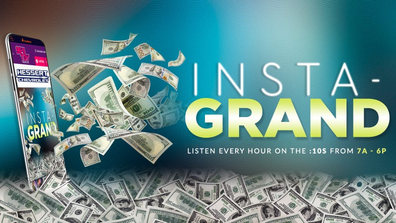 Win and INSTA-GRAND on 96.5 TDY