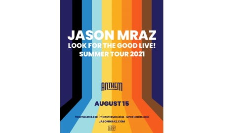 Jason Mraz at The Anthem