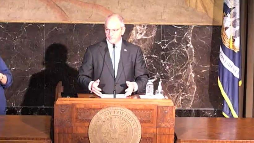 Governor extending Louisiana mask mandate