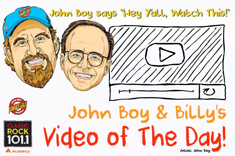 John Boy & Billy Video Of The Day Graphic
