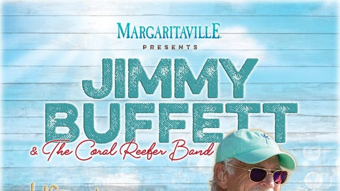 Jimmy Buffett and the Coral Reefer Band will perform at Blossom Music Center for one night only SATURDAY, September 25 at 8pm