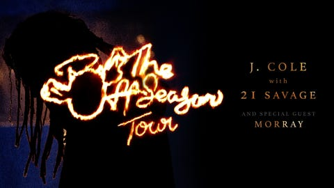 J. Cole with 21 Savage: The Off-Season Tour