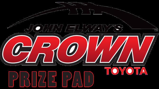 John Elway's  Crown Toyota Prize Pad