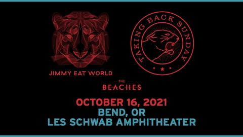 Jimmy Eat World and Taking Back Sunday Co-headline Tour