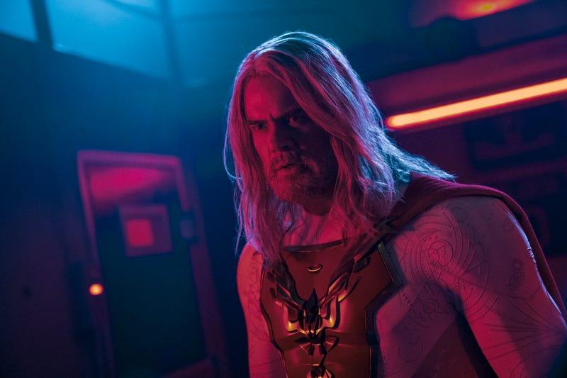 JOSH DUHAMEL as SHELDON SAMPSON in episode 108 of JUPITER'S LEGACY.