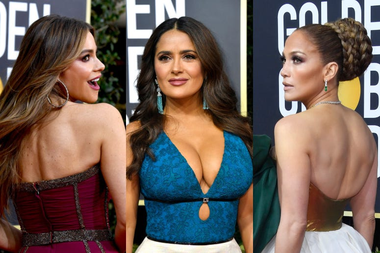Jennifer Lopez, Sofia Vergara, Salma Hayek
