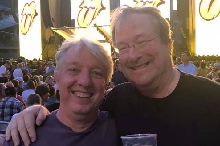 John & Lin at The Rolling Stones 2019