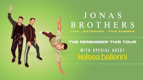 Jonas Brothers - The Remember This Tour